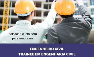 <span class='p-name'>Engenheiro Civil – Trainee em Engenharia</span>