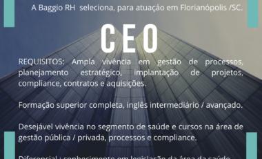 <span class='p-name'>CEO – Área da Saúde</span>